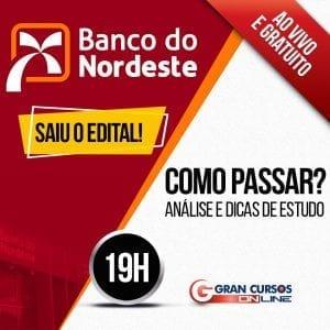 Concurso Banco do Nordeste Como Passar