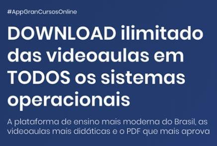 estudar para concurso: download ilimitado das videoaulas