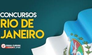 Concurso RJ: confira as oportunidades para o Rio de Janeiro em 2019!