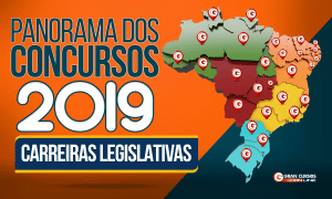 Concursos Legislativos 2019: confira AQUI as oportunidades!