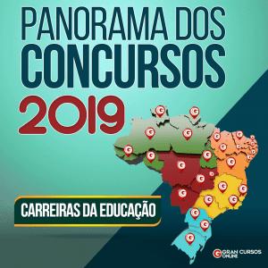 Concurso Educação 2019