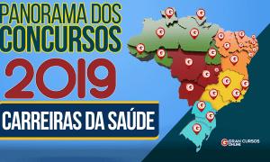 Concursos Saúde 2019: confira as oportunidades abertas e previstas!