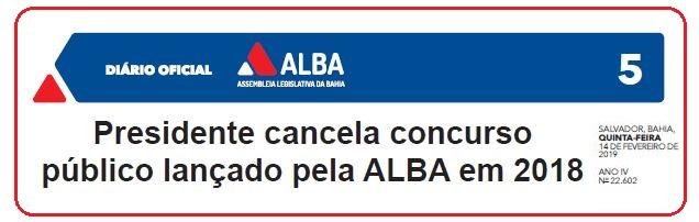 Edital ALBA