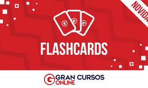 Conheça os nossos Flashcards! Método ajuda a fixar os conteúdos estudados!