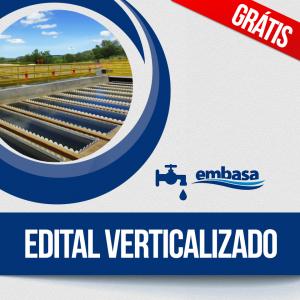 Concurso EMBASA: edital verticalizado