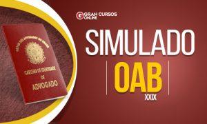 Material gratuito: faça o simulado da OAB e teste seus conhecimentos!
