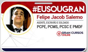 Conheça Felipe Jacob aprovado na PMDF