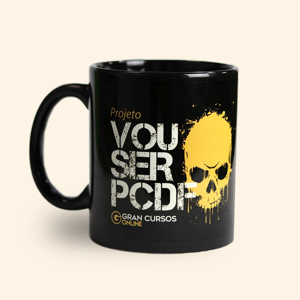 Caneca PC/DF – Gran Cursos Online