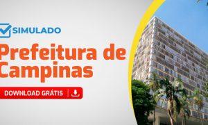 Concurso Prefeitura de Campinas SP: confira os simulados gratuitos!