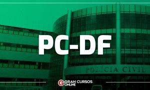 Concurso PCDF para Agente deve ser autorizado na próxima semana