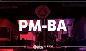 Concurso PM BA Soldado: provas neste domingo