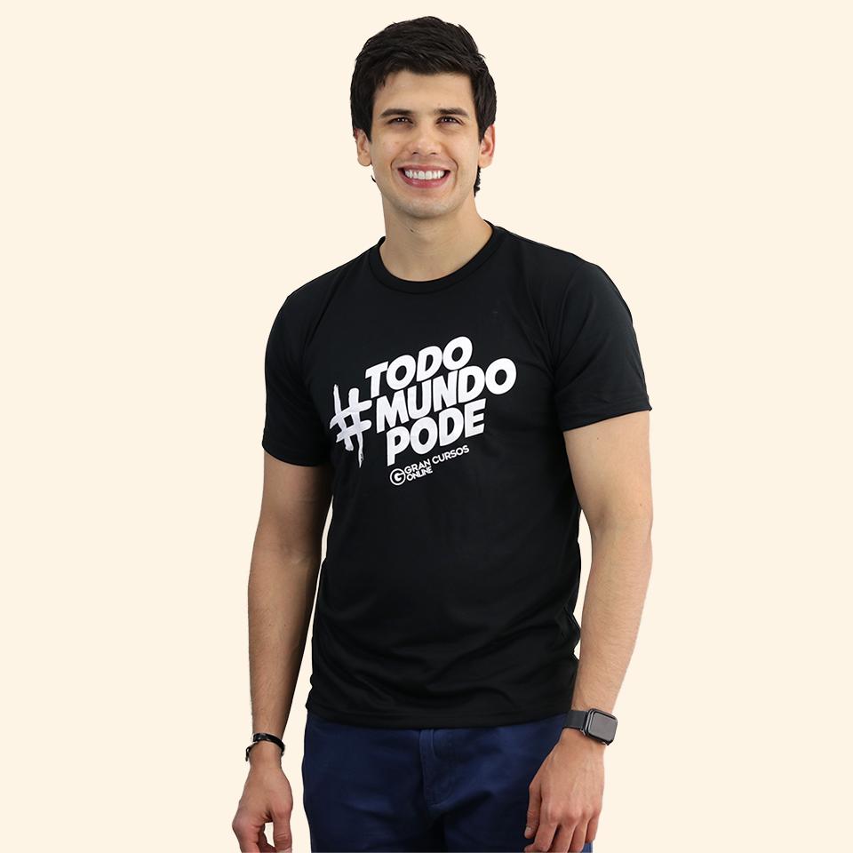 Camiseta Masculina – Todo Mundo Pode
