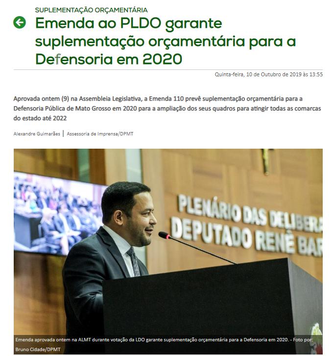 Concurso DPE MT: notícia site!