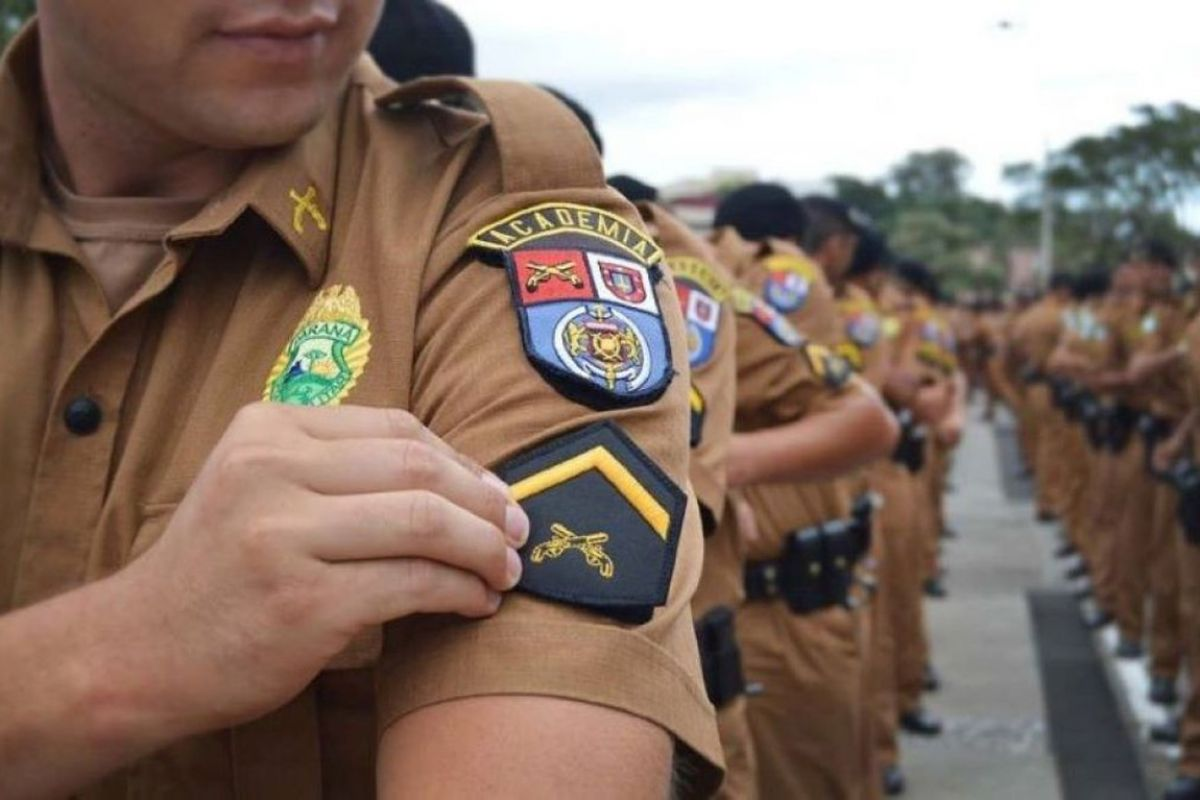 Concurso PM PR: 2.400 vagas para Soldado autorizadas!