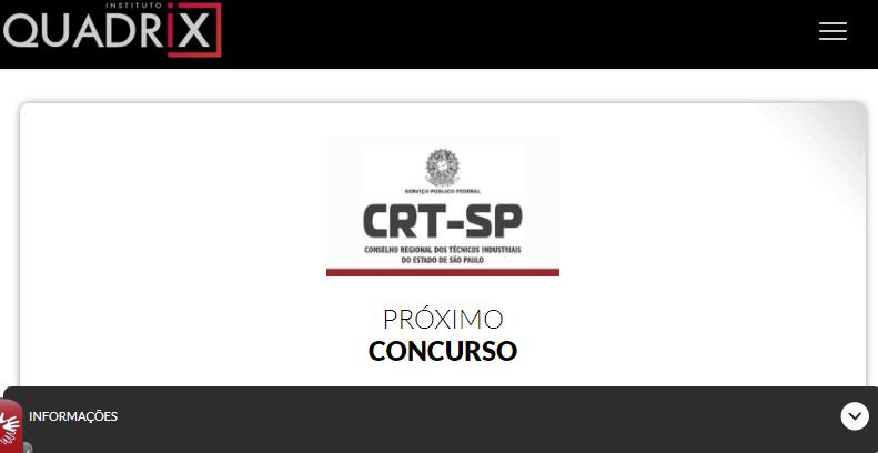 concurso crt sp