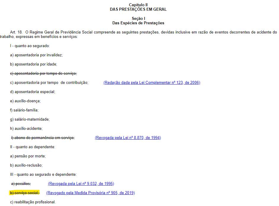Concurso INSS: medida provisória revoga serviço social como benefício da autarquia.
