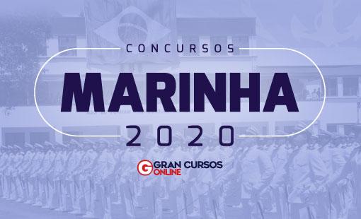 concursos marinha 2020