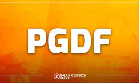 Concurso PGDF Procurador