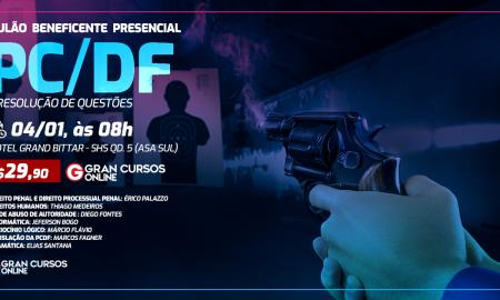 Concurso PCDF Escrivão