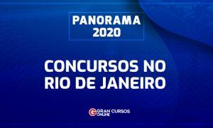 Concursos RJ 2020: confira as oportunidades!
