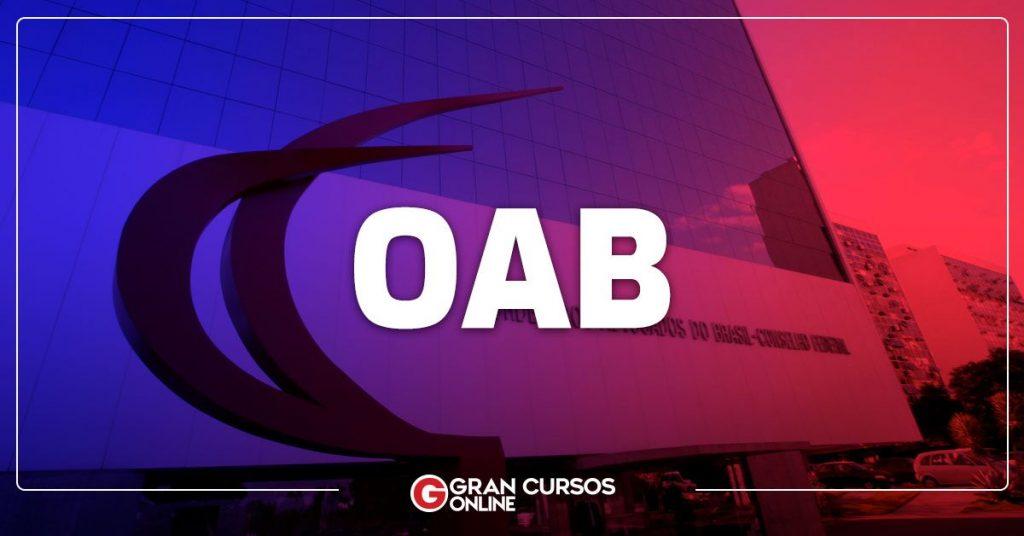 Gabarito OAB foi publicado no domingo. Confira calendário com as próximas datas!