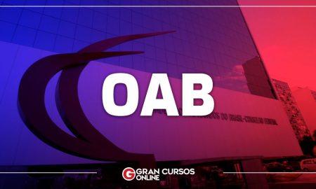 Exame de Ordem Calendário OAB