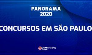 Concursos SP 2020: Quase 10 mil vagas em São Paulo! Veja!