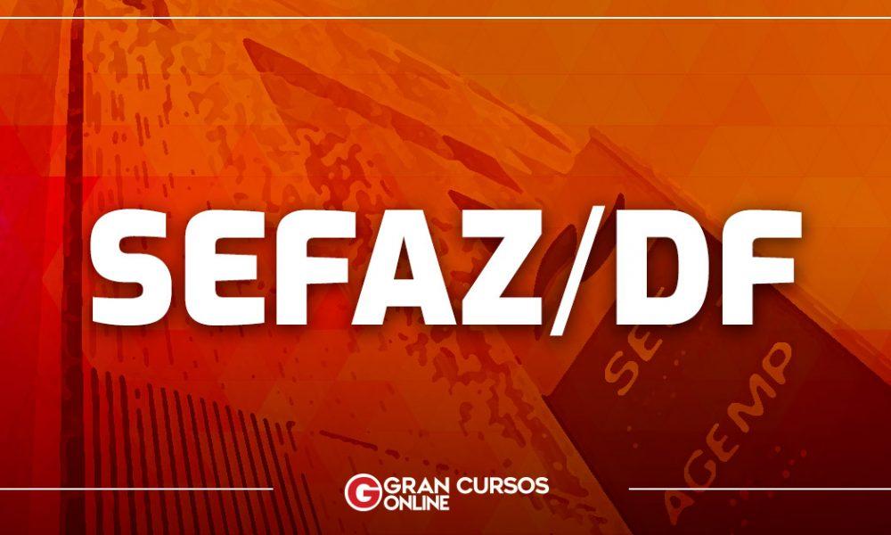 Concurso SEFAZ DF