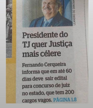 Concurso TJ PE Juiz: edital ainda em 2020.