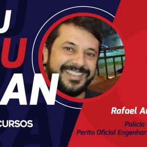 Concurso Polícia Científica PR: Rafael Augusto chegou lá!
