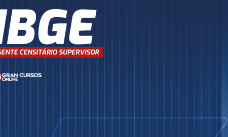 concurso ibge - agente censitario supervisor