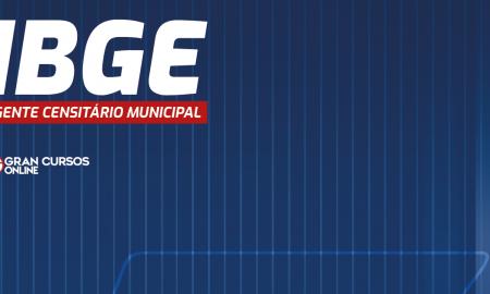 concurso ibge - agente censitario municipal