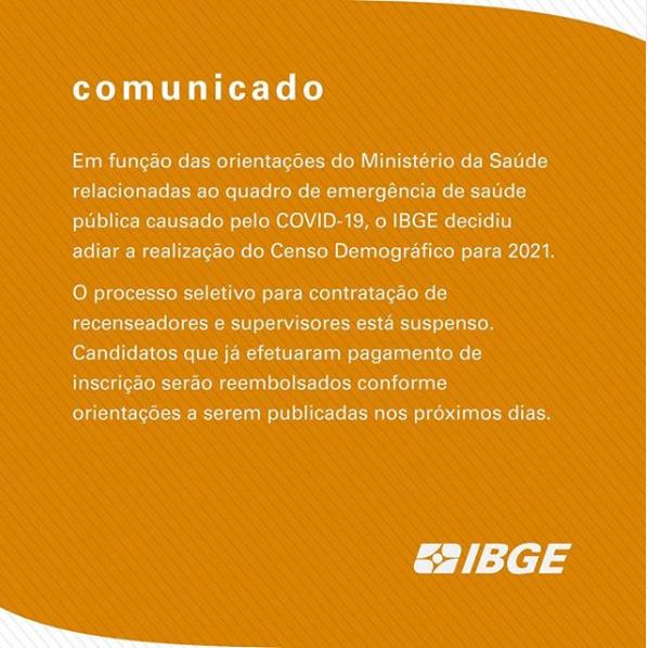 Concurso IBGE: Reembolso