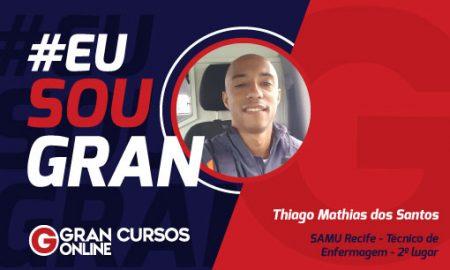 Saiba como Thiago Santos Alcançou 5 aprovações estudando nos intervalos das refeições