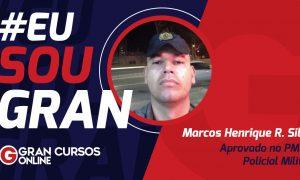 Marcos Henrique realizou um sonho ao passar no concurso PMDF! VEJA!