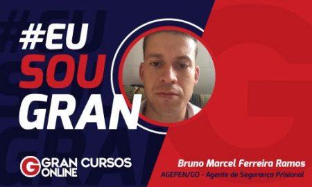 Contribuição social foi o que levou Bruno Ramos ao mundo dos concursos