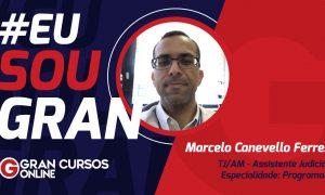 Marcelo Canevello já é concursado há 7 anos, mas não parou de estudar!