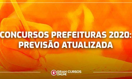 Concursos Prefeituras 2020: PREVISÃO ATUALIZADA para todo país! Confira AQUI!