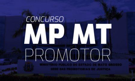 Concurso MP MT Promotor