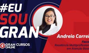 Andreia Correia aprovada no programa de Residência Multiprofissional da Fiocruz