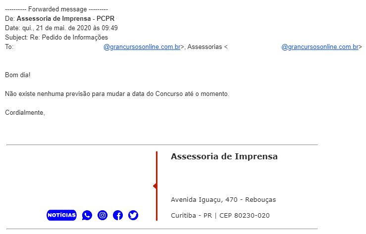 Concurso PC PR: Calendário mantido da Polícia Civil. PCPR oferta 400 vagas!