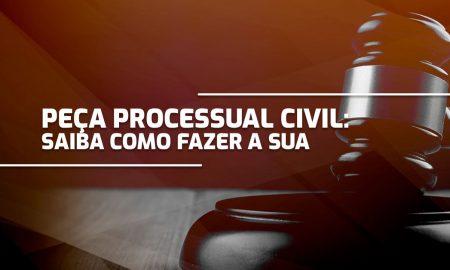 Peça Processual Civil: Saiba como fazer a sua!