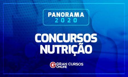 Concursos Nutrição 2020