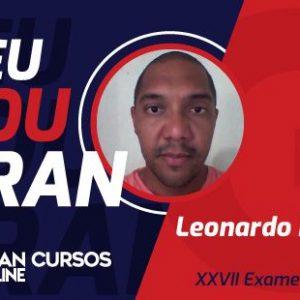 Arte Exame de Ordem Leonardo Ribeiro