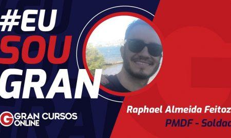 Conheça Raphael Feiroza e como ele foi aprovado na PMDF!