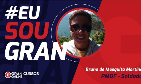 Conheça a rotina de Bruno Martins, aprovado na PMDF