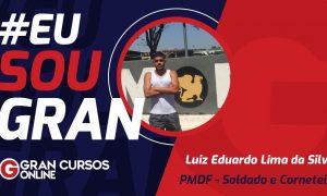 Conheça a rotina de Luiz da Silva até a aprovação no concurso PMDF!