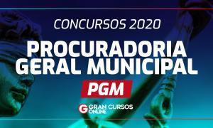 Concursos PGM 2020: vagas para Procurador Municipal em todo país!