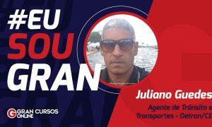 Juliano Guedes manteve o foco e foi aprovado no concurso Detran CE