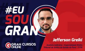 Jefferson Greiki estudou por seis meses e conquistou a aprovação no concurso TJ PA
